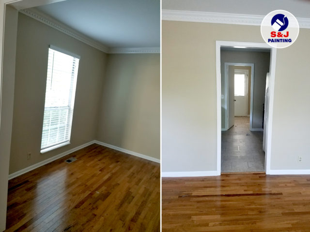 Interior Apartments Painting